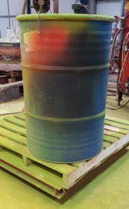 44 Gallon Paint Drum