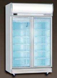 Commercial Fridge 2 glass door - Berjaya